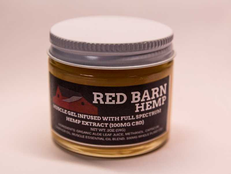 INDEPENDENT PHOTO: JULIA COMNES - The Iverson family started Red Barn Hemp, a brand of CBD-infused topical products made from hemp grown on the farm.