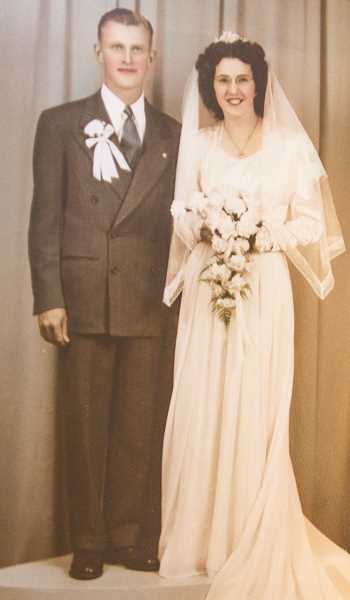 COURTESY PHOTO: DOUBRAVA FAMILY - Doubrava married his wife Dorothy Pirkl in 1946.