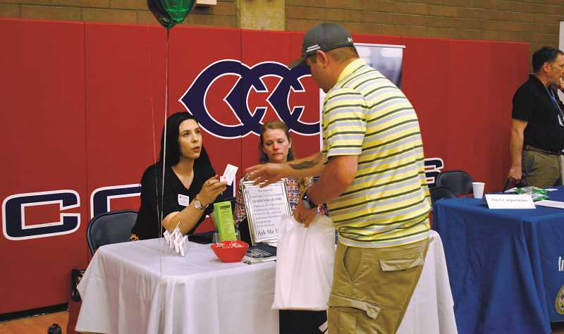 Clackamas Community College's annual job fair will be Oct. 3.
