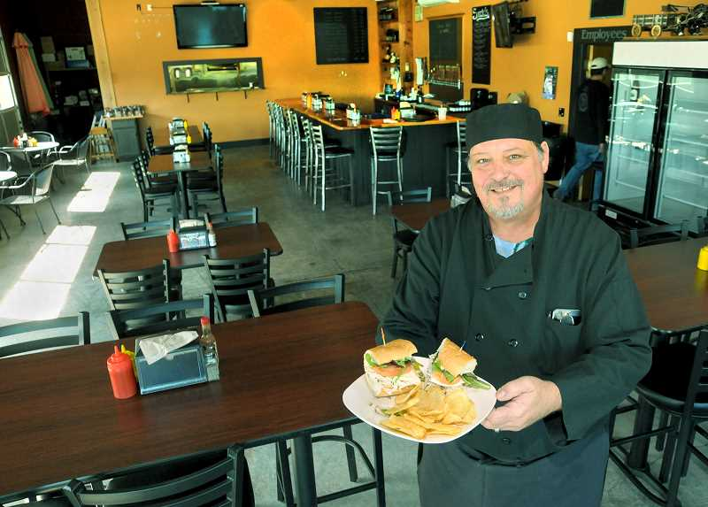 GARY ALLEN - Jeff Rott, a 30-year veteran with Bon Appetit, is the new chef at Chehalem Valley Brewing in Newberg.