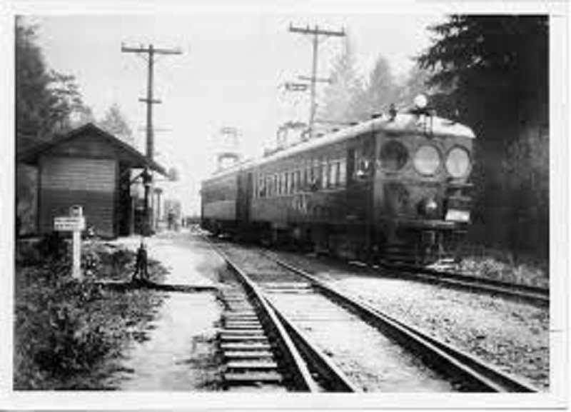 COURTESY PHOTO - Red Electric Railroad