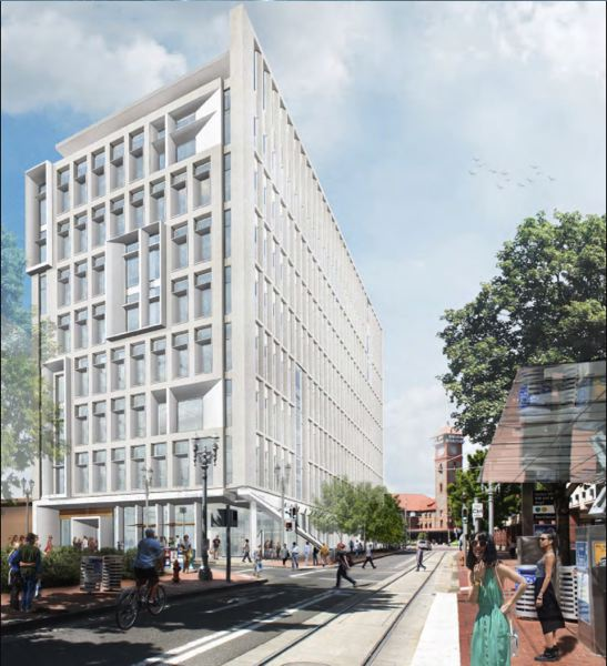 SUBMITTED: ASSOCIATE BUILDERS AND CONTRACTORS - The Multnomah County Health Headquarters has a construction budget of $64.8 million and an estimated total budget of $94.1 million. More than $36.4 million of the project is being funded by the Prosper Portland.