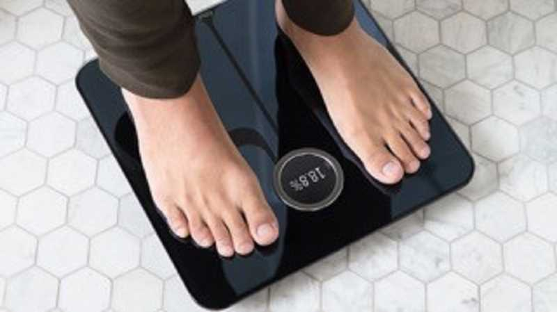 The Fitbit Aria 2 Wifi Smart Scale integrates Fitbit data to track weight, body-fat percentage and BMI.