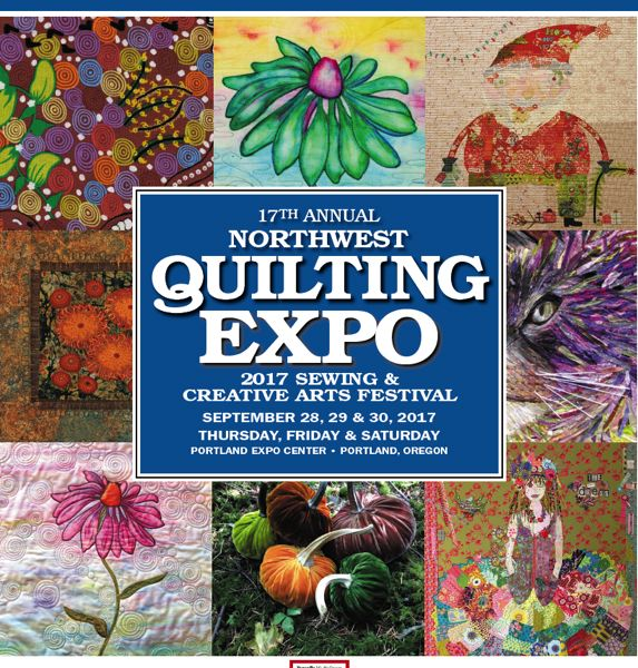 (Image is Clickable Link) Northwest Quilting Expo 2017