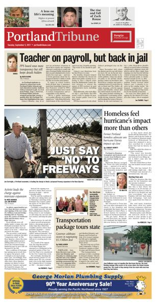 PORTLAND TRIBUNE GRAPHIC - The Portland Tribune and other Pamplin Media Group newspapers report real local news.