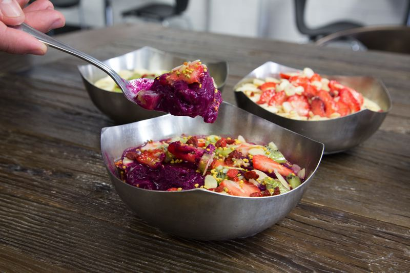 COURTESY OF VITALITY BOWLS - Dishes like the Dragon Bowl are packed with tropical fruits and other nutritious ingredients, according to Vitality Bowls' menu.