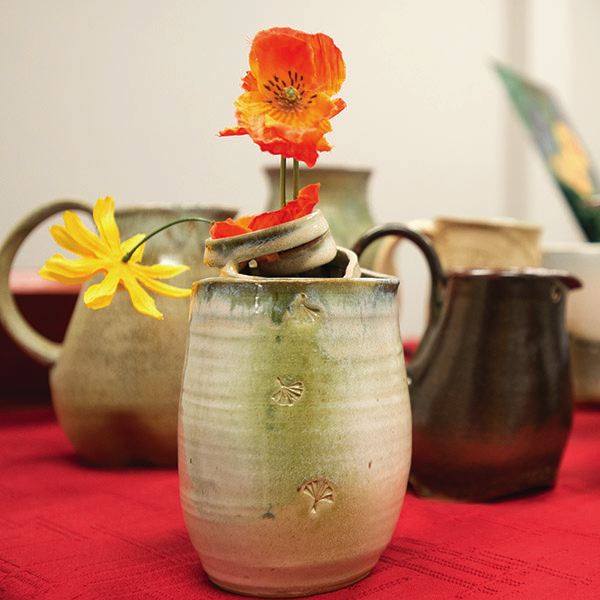 OUTLOOK FILE PHOTO - Hand thrown pottery is one of many offerings by local artists shoppers will find at one of several craft and holiday shows that kick off the Harvest Bazaar season this weekend.