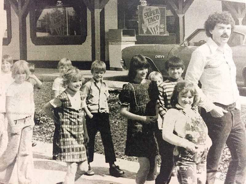 ARCHIVE PHOTO - In 1977, Dave Keebler's third-grade class toured Estacada for inspiration in their own model cities.
