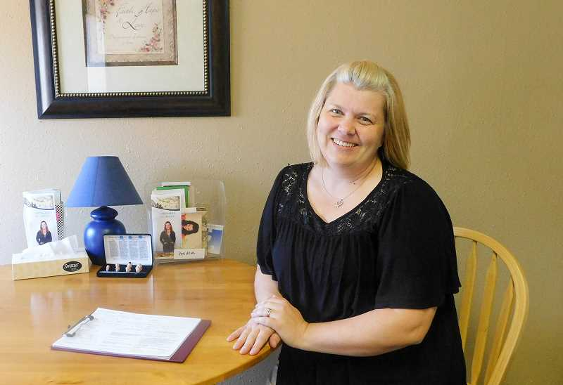 ESTACADA NEWS PHOTO: EMILY LINDSTRAND - Annette Davis is the director of the Estacada Pregnancy Resource Center.
