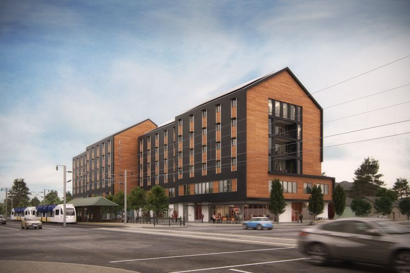 COURTESY CENTRAL CITY CONCERN - Ground is scheduled to be broken at the Eastside Health and Housing Center project at 122nd Avenue and East Burnside Street in late October. It will be built above a health center to support homeless and those at risk of becoming homeless in the area.