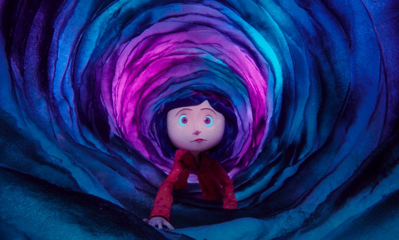COURTESY: LAIKA/PORTLAND ART MUSEUM - 'Coraline' (2009) was Laika's first film. It's still the studio's most financially successful feature. They are working on their fifth feature now, and considering making their way into the television market.