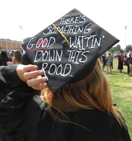 TIMES PHOTO: MANDY FEDER-SAWYER - Miranda McLemore at her college graduation.