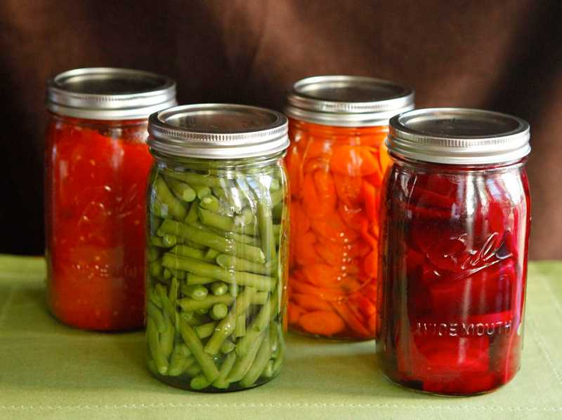 SUBMITTED PHOTO  - Home canning can be done safely. Oregon Department of Agriculture shares the proper steps and precautions for safe home canning.