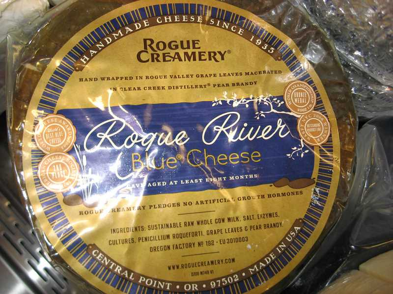 Rogue River Creamery will be sharing its cheeses at The Wedge, including its award-winning bleu cheeses.