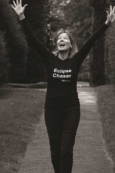 Dr. Kate Russo will be in Molalla on Oct. 12 to talk about being a eclipse chaser.