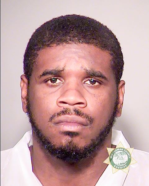 POLICE PHOTO - Robert L. West was booked in the Multnomah County Jail Monday evening, Oct. 2, on an alleged murder charge.