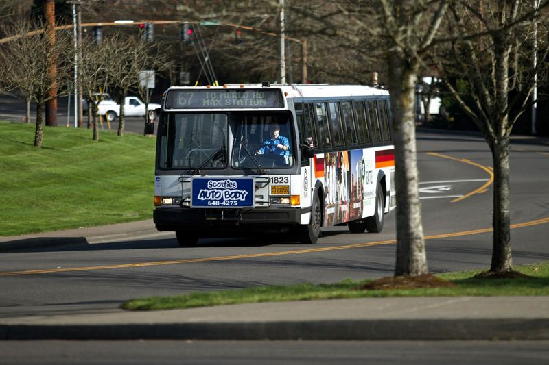 PORTLAND TRIBUNE FILE PHOTO - TriMet says bus ridership has declined because of demographic changes, including gentrification and growth outside of urban centers.