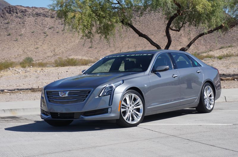 PORTLAND TRIBUNE: JEFF ZURSCHMEIDE - The full-size 2018 Cadillac CT6 offers Super Cruise semi-autonomous driving capabilities in the Premium Luxury and Platinum trim levels, and up to 400 horsepower from a three-liter twin-turbo V6 engine.