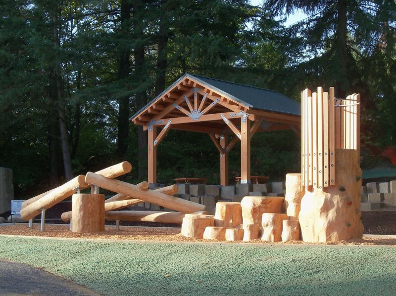 COURTESY OF THE CITY OF TIGARD - New structures at Bull Mountain Park will be celebrated at a dedication event and ribbon-cutting Sunday.