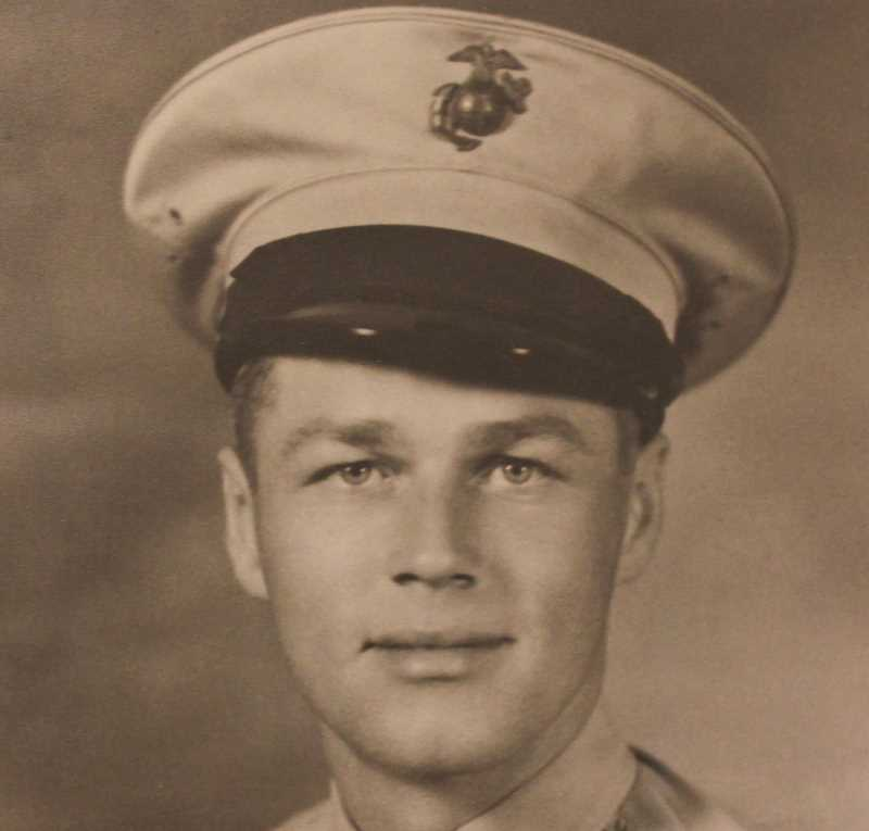 PHOTO COURTESY OF VFW - Dexter Fincher Post No. 1412 VFW and Auxiliary were named after Dexter Fincher, a Prineville resident who was killed during the Japanese Pearl Harbor attack on Dec. 7, 1941. Fincher was a Marine sergeant gun captain on the U.S.S. Arizona.