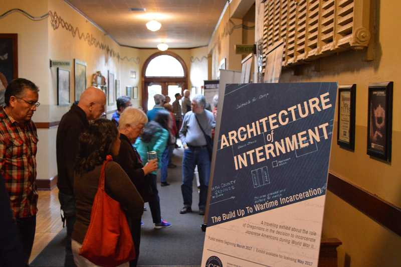COURTESY PHOTO - The 'Architecture of Internment: The Buildup to Wartime Incarceration' will be on display for one night only at the Walters Cultural Arts Center on Oct. 17 from 7 p.m. to 8:30 p.m.