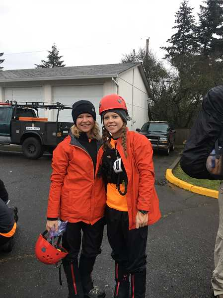 SUBMITTED PHOTO: GITTE VENDERBY - The Venderbys all geared-up and ready to go out on a search mission with the MCSOSAR team.