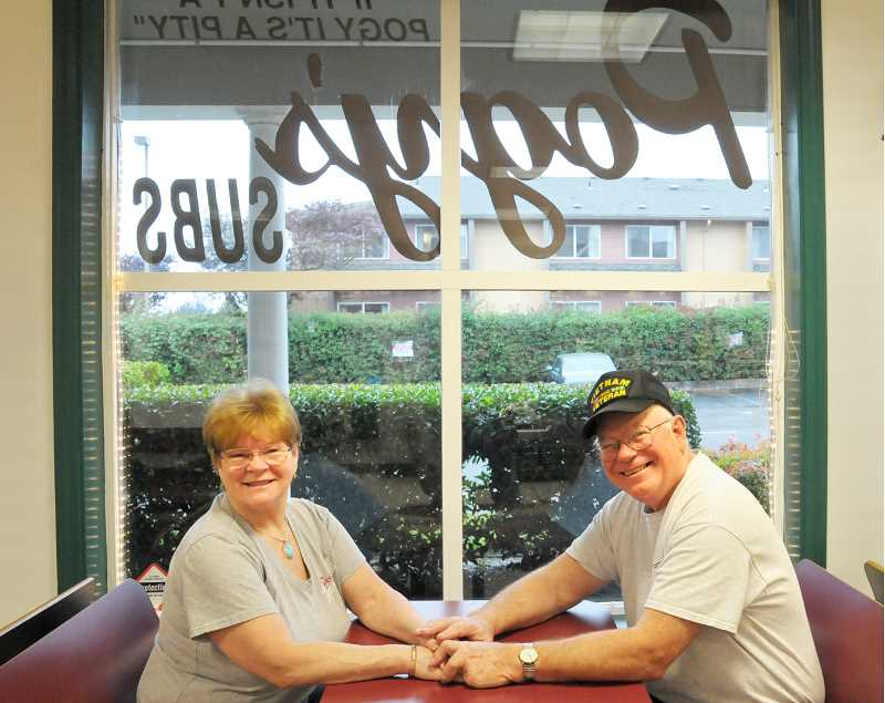 GARY ALLEN - Paula Runnells and Jim Oravetz opened Pogy's Subs in July 1990 in its original location in a shopping center off Everest Road. They moved the business to its current location on Hayes Street in 1999.
