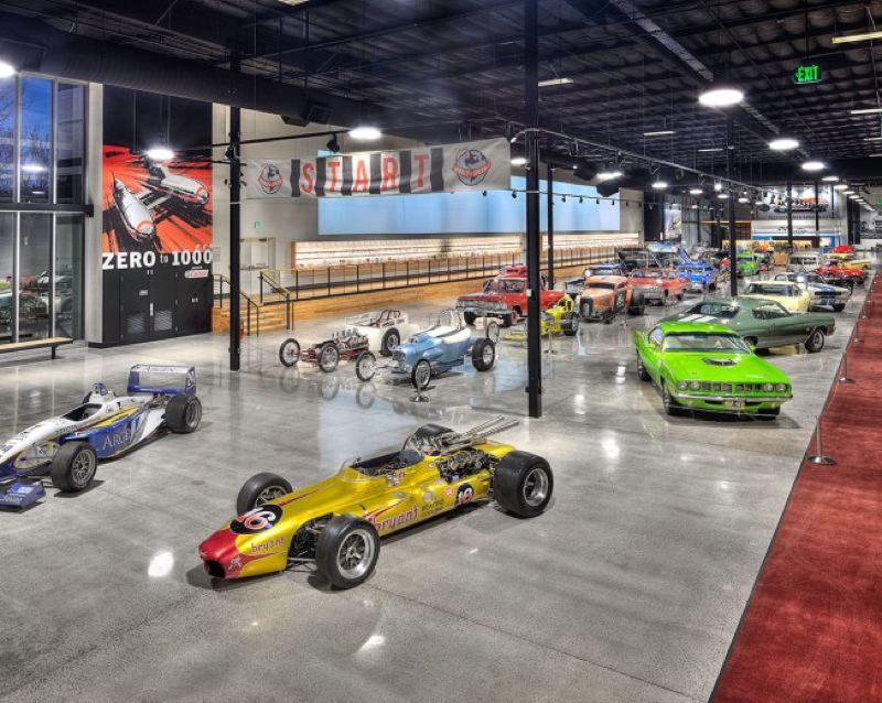 COURTESY WOS - Inside the World of Speed in Wilsonville.