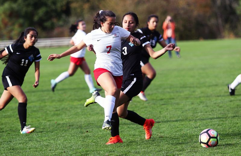 DAN BROOD - Westside senior Laura Staropoli (7) scored five goals in Monday's match, giving her 112 for her career.