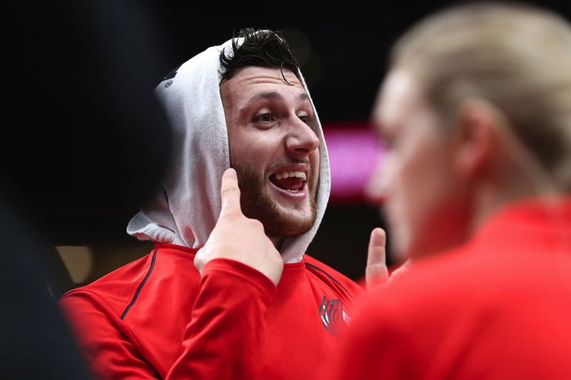 TRIBUNE PHOTO: JAIME VALDEZ - Center Jusuf Nurkic's arrival changed the complexion of the Trail Blazers, who open their NBA season Wednesday at Phoenix.