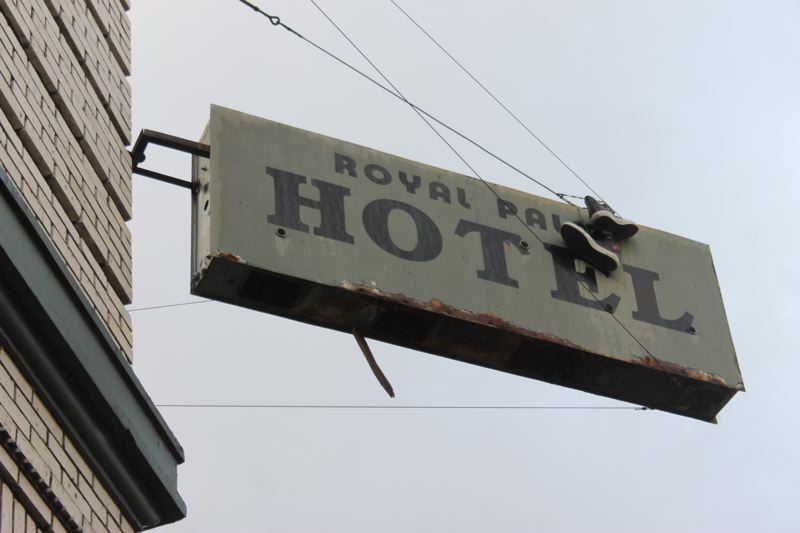 TRIBUNE PHOTO: LYNDSEY HEWITT - The Royal Palm Hotel building is in Old Town Chinatown's historic district.