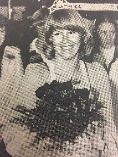 ARCHIVE PHOTO - In 1977, Estacada High School senior Lori Holliday was crowned homecoming queen.