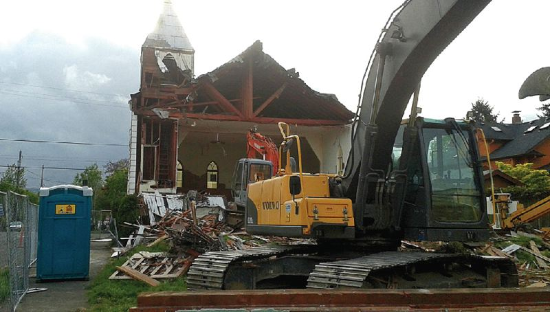XXX - Neighbors frequently complain that not all developers take enough precautions when demolishing homes and other structures for new projects.