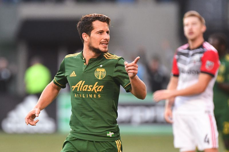 TRIBUNE PHOTO: JOSH KULLA - Sebastian Blanco's play and productivity have helped the Portland Timbers surge late in the MLS regular season.