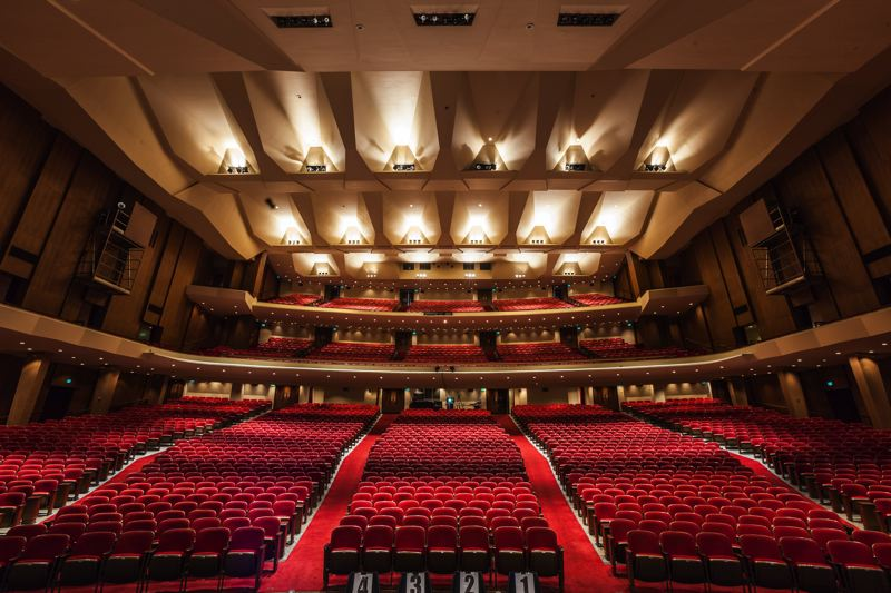 COURTESY: PORTLAND'5 CENTER FOR THE ARTS - The Keller Auditorium, which seats 2,992, has seen many types of performances and uses over the last century. It celebrates its centennial this year.
