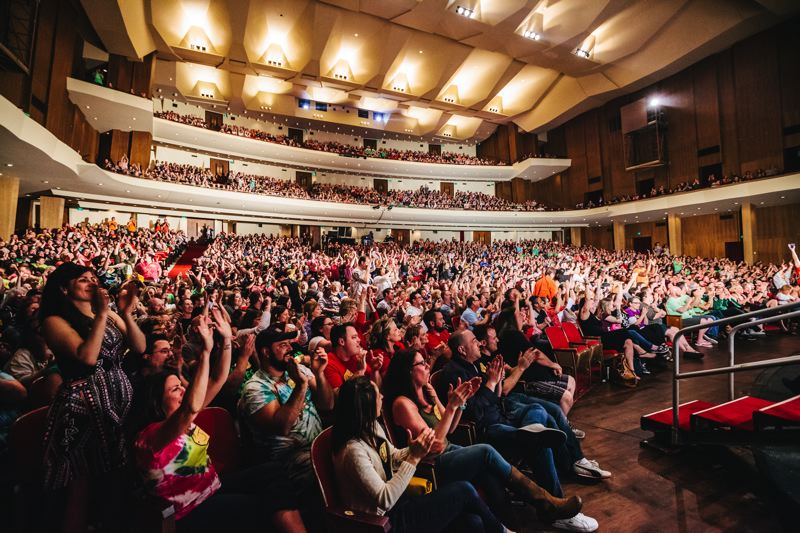 COURTESY: PORTLAND'5 CENTER FOR THE ARTS - The auditorium celebrates its centennial this year.
