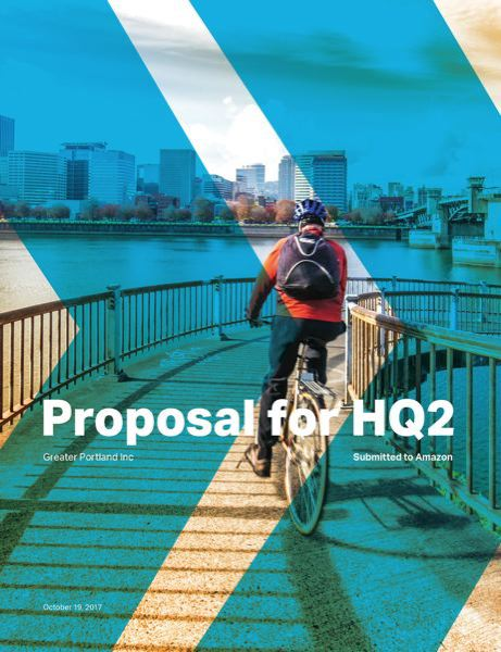 COURTESY: GREATER PORTLAND INC - Greater Portland Inc has pitches from four metro municipalities and one distributed campus to win Amazon's HQ2 competition.