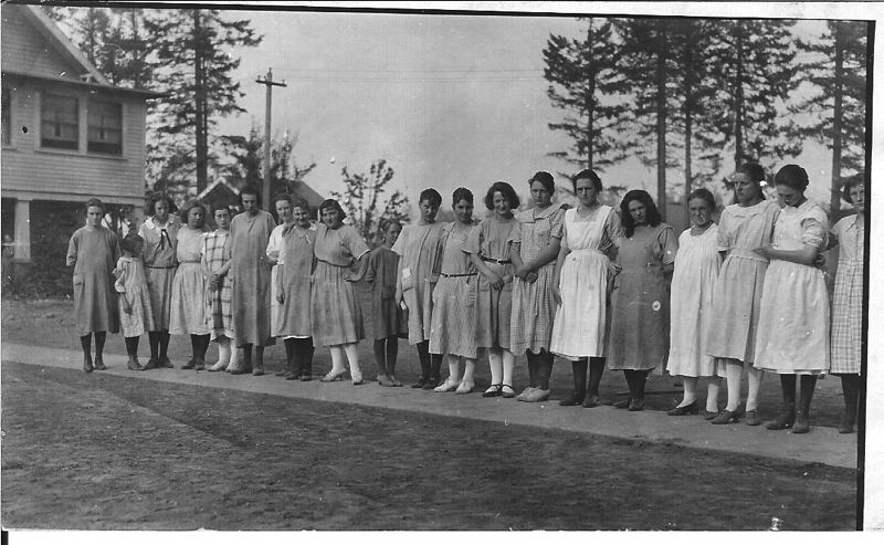 CONTRIBUTED PHOTO: ALBERTINA KERR - The Louise Home and surrounding campus served unwed mothers and their children.