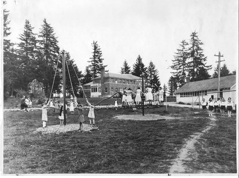 CONTRIBUTED PHOTO: ALBERTINA KERR - The Louise Home and campus has been helping the vulnerable since it was constructed in 1925.