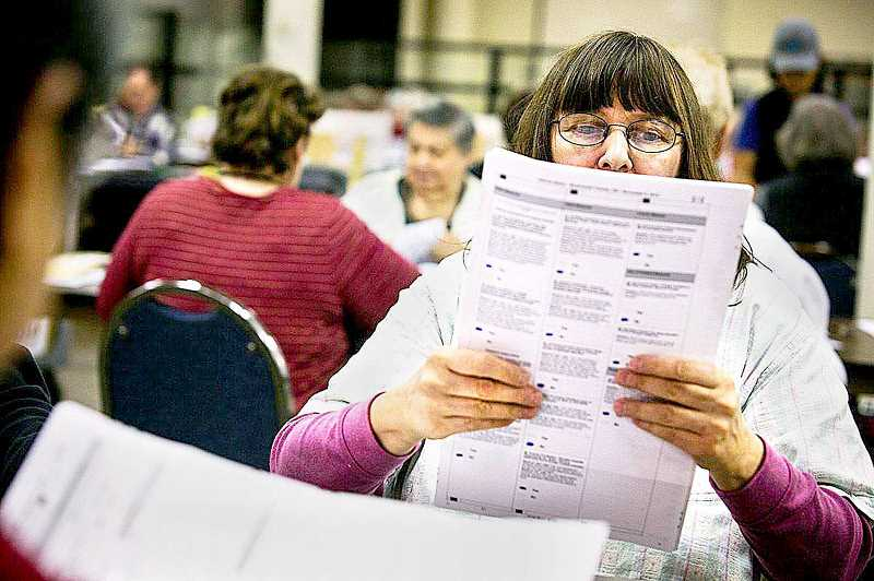 PMG FILE PHOTO - The Yamhill County Clerk's Office has re-mailed more than 2,000 ballots after it was discovered that some ballots sent to residences won't reach people who use post office boxes only.