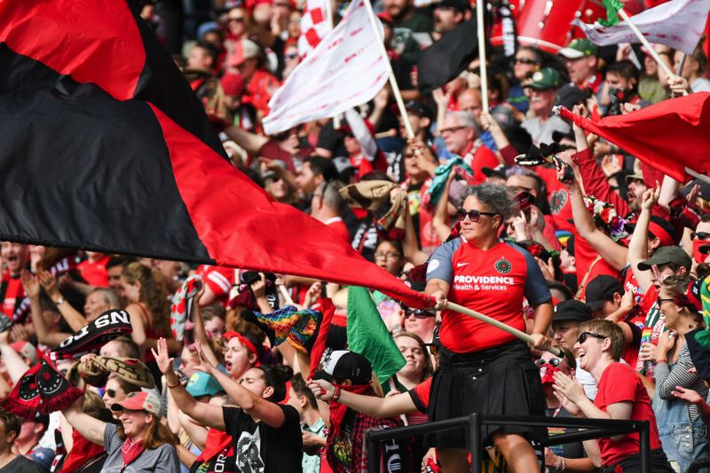 PAMPLIN MEDIA GROUP FILE PHOTO - Oregon's congressional delegation introduced resolutions Thursday, Oct. 26, in the U.S. House and Senate honoring the NWSL champiion Portland Thorns.