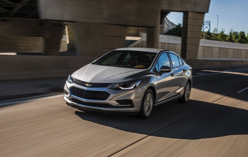 COURTESY CHEVY - The 2018 Cruze Hatch Diesel is proof that small economy cars do not have to look boring.