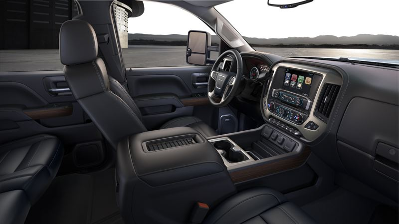 PORTLAND TRIBUNE: JEFF ZURSCHMEIDE - Everything about the Denali interior is high-quality, but understated rather than flashy. It includes an 8-inch touchscreen infotainment interface and all the other features you want.