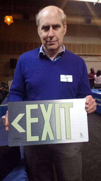 PAMPLIN MEDIA GROUP: JOSEPH GALLIVAN - Joel Saxe was there to sell glow-in-the-dark exit signs to PPS and the Port.