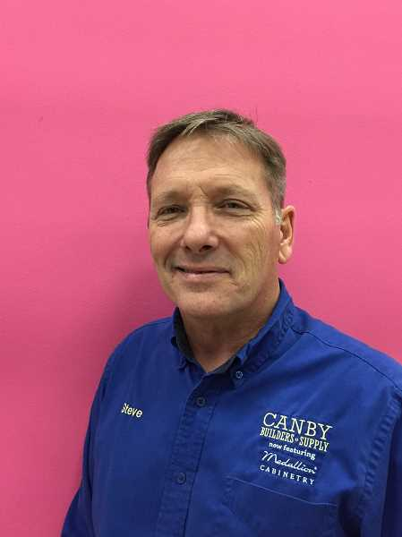 CANBY BUILDERS SUPPLY - Steve Vohs