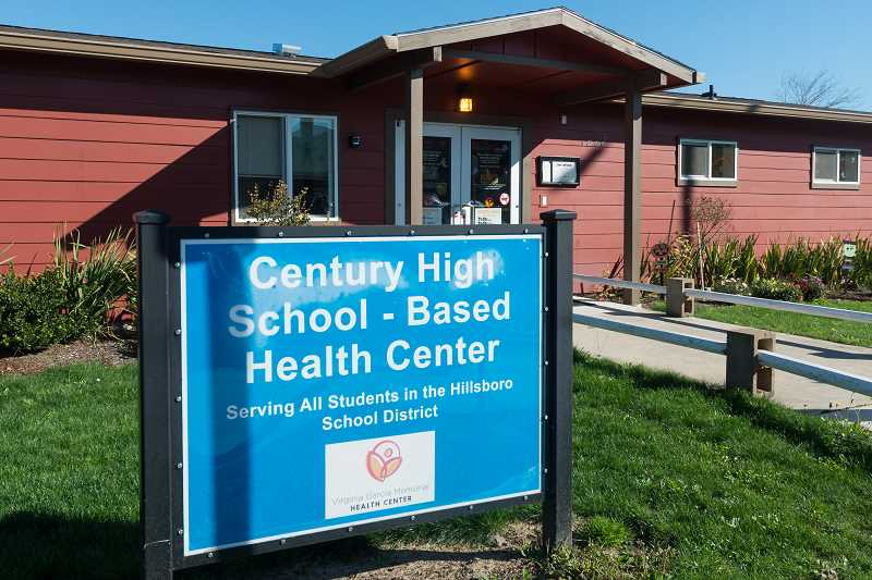 HILLSBORO TRIBUNE PHOTO: CHRISTOPHER OERTELL - The school-based health center at Century High School could scale back hours or close altogether after the federal government opted not to extend funding to Virginia Garcia, which operates the center.