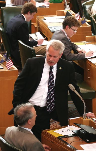 FILE PHOTO - Rep. Mark Johnson is in his fourth term as representative of House District 52.