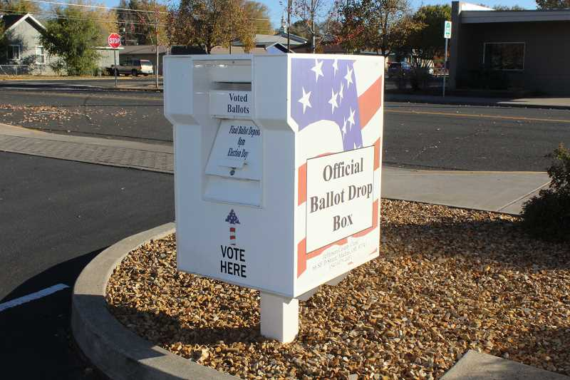 HOLLY M. GILL - Ballots can be turned in at the ballot drop box in the Jefferson County Courthouse Annex parking lot by Nov. 7.