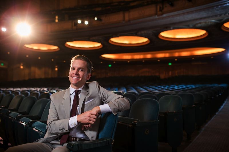 COURTESY: OREGON SYMPHONY - With 'Sounds of Home,' Scott Showalter, Oregon Symphony president, says the goal is to 'merely offer the space for people to reflect.'
