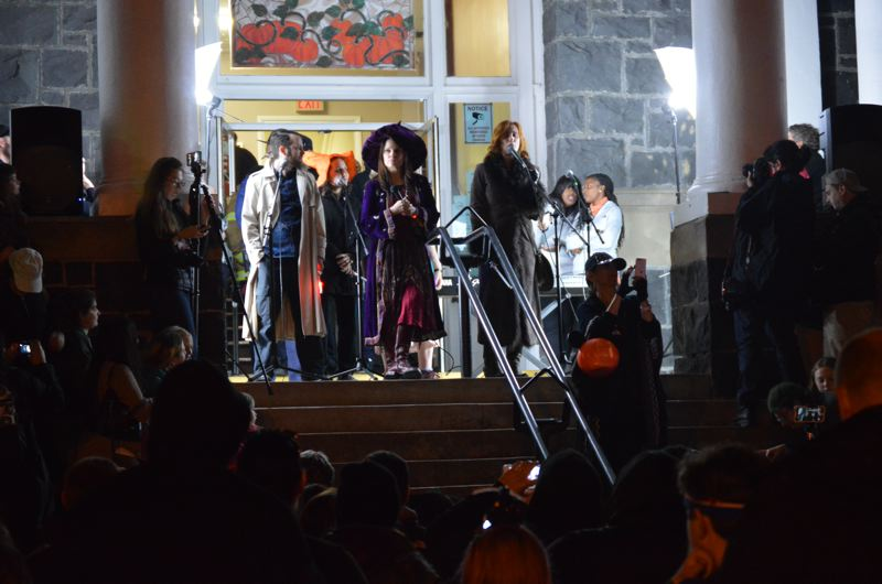 SPOTLIGHT FILE PHOTO: NICOLE THILL - Spirit of Halloweentown festivities attracted thousands of people to St. Helens this year. Celebrity guest appearances countinue to make up the majority of the event's budget and draw in large crowds.